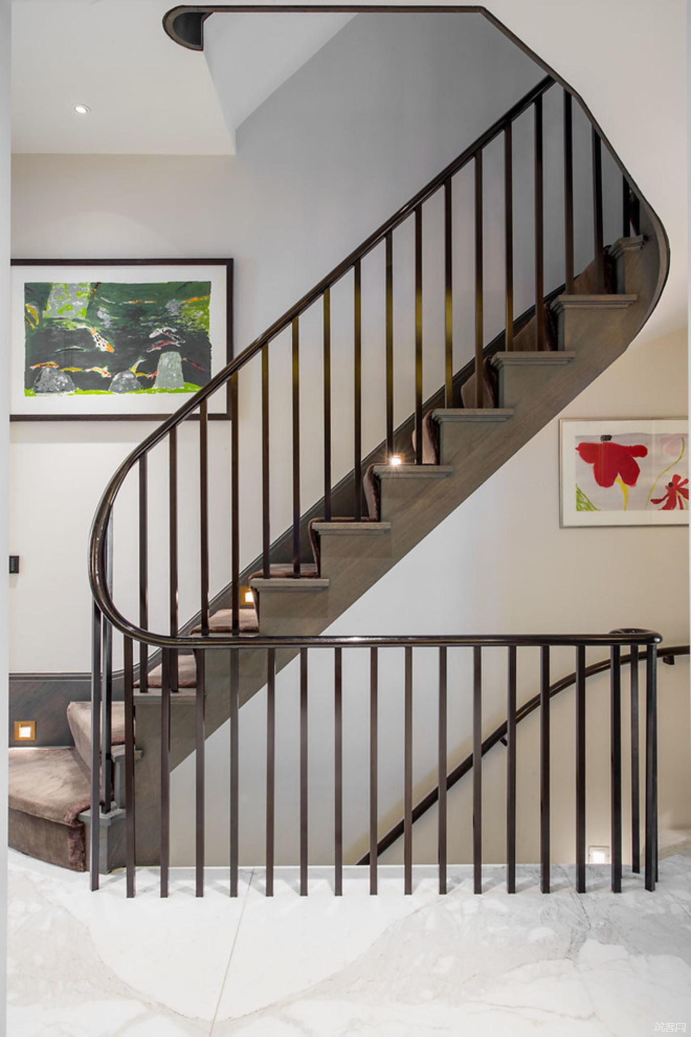 乡村别墅楼梯设计图